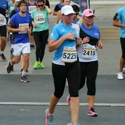 Tallinna Maratoni Sügisjooks 10 km - Kadi Kabanen (2415), Age Kala (5225)