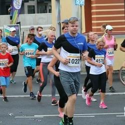 Tallinna Maratoni Sügisjooks 10 km - Tanel Tarkvee (1022), Kristiina Lipstal (4576), Artur Panov (4930), Valentin Zaporoztsev (4944)