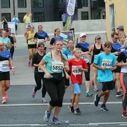Tallinna Maratoni Sügisjooks 10 km - Hele-Liina Musthallik (3060), Artur Panov (4930), Valentin Zaporoztsev (4944), Janne Lias (5852)