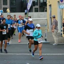 Tallinna Maratoni Sügisjooks 10 km - Bernadette Schlueter (5252), Adrian Suarez (5273), Imre Kollo (11285)