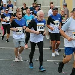 Tallinna Maratoni Sügisjooks 10 km - Anneli Toomsalu (3188), Vello Maasen (3300), Serhii Chukhan (4029), Andres Häkkinen (8664)