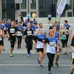 Tallinna Maratoni Sügisjooks 10 km - Agnes Pihelpuu (6278), Marii Viks (9092)