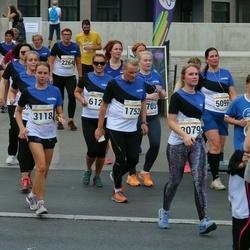 Tallinna Maratoni Sügisjooks 10 km - Jorma Mustonen (1752), Annika Kaljula (3118)