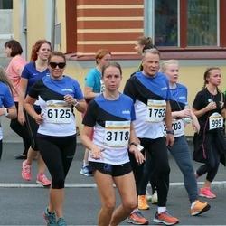 Tallinna Maratoni Sügisjooks 10 km - Jorma Mustonen (1752), Annika Kaljula (3118), Krista Rüüt (6125)