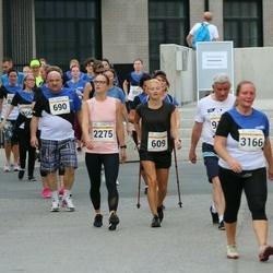 Tallinna Maratoni Sügisjooks 10 km - Rita Alas-Järv (609), Andrei Burzak (690), Anastassia Saar (2275)