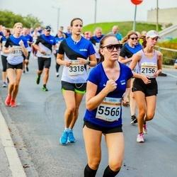 Tallinna Maratoni Sügisjooks 10 km - Camilla Geisor (2156), Liilia Makarova (3318), Keia Laht (5566)