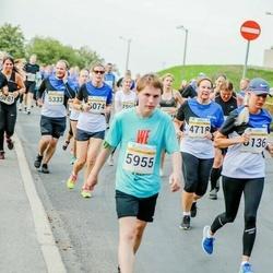 Tallinna Maratoni Sügisjooks 10 km - Irene Ploom (4718), Siret Tarvis (5074), Arnis Avar Sammalpärg (5955), Maarja Randväli (6136)