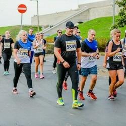 Tallinna Maratoni Sügisjooks 10 km - Eve-Liis Teder (3397), Arno Kender (5849), Kristina Piho (6325), Alexandra Ulyanova (6628)