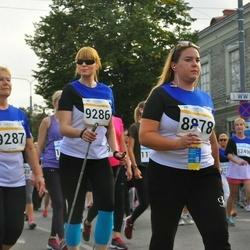 Tallinna Maratoni Sügisjooks 10 km - Anni Sillaste (8878), Janne Pihelgas (9286), Urve Haava (9287)