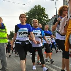 Tallinna Maratoni Sügisjooks 10 km - Ilse Roovik (10472), Anita Teearu (10486)