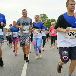 Tallinna Maratoni Sügisjooks 10 km - Brian Timm-Brock (3256), Tanel-Markus Tammela (3293), Intars Jansons (5278)