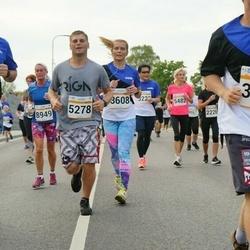 Tallinna Maratoni Sügisjooks 10 km - Brian Timm-Brock (3256), Tanel-Markus Tammela (3293), Heili Anni (3608), Intars Jansons (5278)