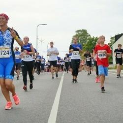 Tallinna Maratoni Sügisjooks 10 km - Sigrid Tilk (2724), Artur Panov (4930), Margit Traublum (5442)