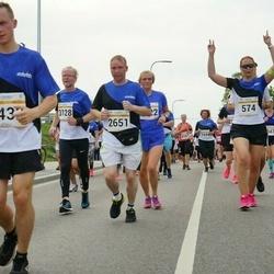 Tallinna Maratoni Sügisjooks 10 km - Heidi Speck (574), Aleksei Stsetinin (2651), Olli Johansson (3128), Dmitri Nasennik (5433)