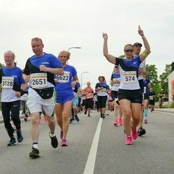 Tallinna Maratoni Sügisjooks 10 km - Heidi Speck (574), Mart Mikson (2178), Aleksei Stsetinin (2651), Olli Johansson (3128), Dmitri Nasennik (5433)