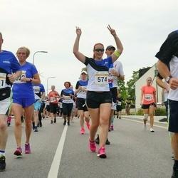 Tallinna Maratoni Sügisjooks 10 km - Heidi Speck (574), Mart Mikson (2178), Aleksei Stsetinin (2651), Olli Johansson (3128)