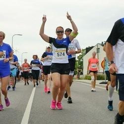 Tallinna Maratoni Sügisjooks 10 km - Heidi Speck (574), Mart Mikson (2178), Aleksei Stsetinin (2651)