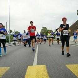 Tallinna Maratoni Sügisjooks 10 km - Agne Roosileht (1435), Karl Männasoo (2068), Tiia Urb (3037)