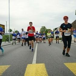 Tallinna Maratoni Sügisjooks 10 km - Liisa Faifruk (1431), Agne Roosileht (1435), Karl Männasoo (2068), Tiia Urb (3037)