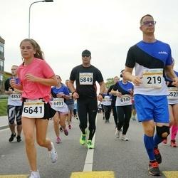 Tallinna Maratoni Sügisjooks 10 km - Kauri Aaslaid (219), Arno Kender (5849), Elo Paluoja (6142), Külliki Tafel-Viia (6196), Polina Timofejeva (6501), Jekaterina Vorontsova (6641)