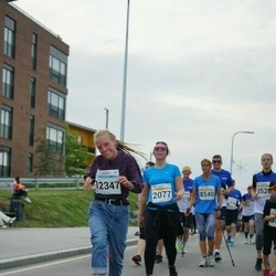 Tallinna Maratoni Sügisjooks 10 km - Margit Aadna (2077), Amalie Bartels (12347)