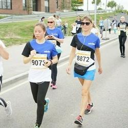 Tallinna Maratoni Sügisjooks 10 km - Silja Sirkas (8872), Sabrina Bunt (9073), Anna Mirotvortseva (11325)