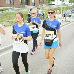 Tallinna Maratoni Sügisjooks 10 km - Kristi Rannus (8346), Silja Sirkas (8872), Sabrina Bunt (9073), Anna Mirotvortseva (11325)