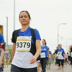 Tallinna Maratoni Sügisjooks 10 km - Anastassia Dyubanova (8915), Anu Samm (9379)
