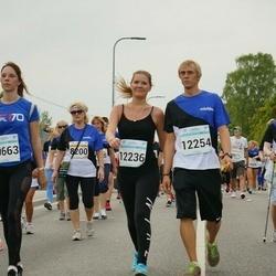 Tallinna Maratoni Sügisjooks 10 km - Anastasiia Taratynova (8721), Anastassia Taranko (10663), Kerdi Koonik (12236), Helar Kuuler (12254)