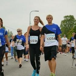 Tallinna Maratoni Sügisjooks 10 km - Alla Arefina (8200), Anastasiia Taratynova (8721), Anastassia Taranko (10663), Kerdi Koonik (12236), Helar Kuuler (12254)