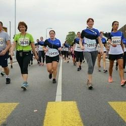 Tallinna Maratoni Sügisjooks 10 km - Kalev Puidak (3403), Pille Puidak (3636), Angela Elhi (9098), Annely Kolk (9693), Raili Liivas (10439), Annika Leek (10923)