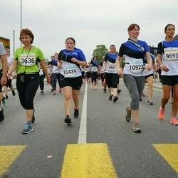 Tallinna Maratoni Sügisjooks 10 km - Kalev Puidak (3403), Pille Puidak (3636), Annely Kolk (9693), Raili Liivas (10439), Annika Leek (10923)