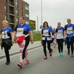Tallinna Maratoni Sügisjooks 10 km - Natalja Rõbakova (2941), Ljudmila Injukina (2943), Triin Hindrikus (9698), Birgit Veermäe (9699), Marta Meriloo (9722)