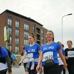 Tallinna Maratoni Sügisjooks 10 km - Anastasia Gordeyuk (10672), Maria Haritonova (10674)