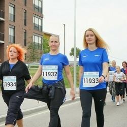Tallinna Maratoni Sügisjooks 10 km - Agnes Rull (11932), Margareth Tenno (11933), Gysela Voron (11934)
