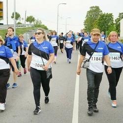 Tallinna Maratoni Sügisjooks 10 km - Agne Annuk (10409), Karin Tenn (11463), Riho Tenn (11843)