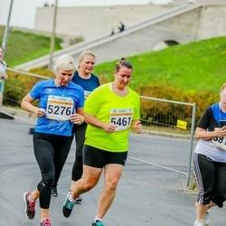 Tallinna Maratoni Sügisjooks 10 km - Karin Talalaev (5276), Agnes Talalaev (5461)