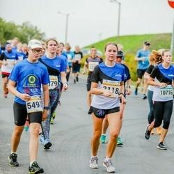 Tallinna Maratoni Sügisjooks 10 km - Annika Kaljula (3118), Jan Rasmus Rohtla (5497), Lisette Põrk (10716)