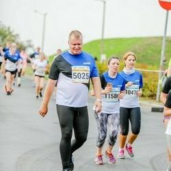 Tallinna Maratoni Sügisjooks 10 km - Agu Kipso (5025), Stella Selberg (10476), Stéphanie Durand (11586)