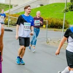 Tallinna Maratoni Sügisjooks 10 km - Johannes Hemlig (12332), Amalie Bartels (12347)
