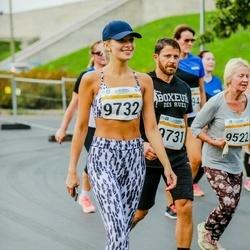 Tallinna Maratoni Sügisjooks 10 km - Alik Lapidus (9731), Anna Teplinskaja (9732)