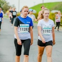 Tallinna Maratoni Sügisjooks 10 km - Age Kaljuorg (11283), Elis Anete Saksman (11927)
