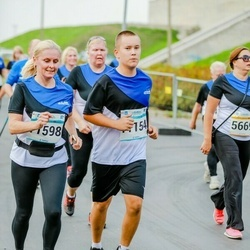 Tallinna Maratoni Sügisjooks 10 km - Erik Eduard Laht (11154), Agne Laht (11598)
