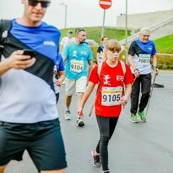Tallinna Maratoni Sügisjooks 10 km - Anna Kotova (9105), Juhan Tarum (10815)