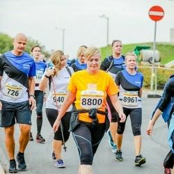 Tallinna Maratoni Sügisjooks 10 km - Toomas Tohver (726), Meeli Kilk (8800), Regita Hanzing (8961), Annika Roost (9401)
