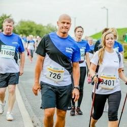 Tallinna Maratoni Sügisjooks 10 km - Toomas Tohver (726), Annika Roost (9401), Vitali Goroško (11680)