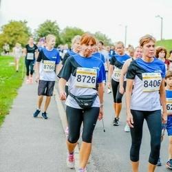 Tallinna Maratoni Sügisjooks 10 km - Margit Isak (8406), Andra Valdmets (8726)