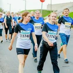 Tallinna Maratoni Sügisjooks 10 km - Heli Ojamaa (9537), Otto Ojamaa (9539), Annika Juursoo (11740), Liis Laanela (11743)