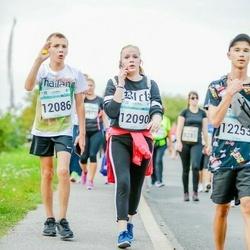 Tallinna Maratoni Sügisjooks 10 km - Denis Altovski (12086), Olga Gorjatšova (12090), Artjom Baranov (12253)