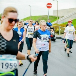 Tallinna Maratoni Sügisjooks 10 km - Anastassia Sever (9194), Sirje Puri (11037)